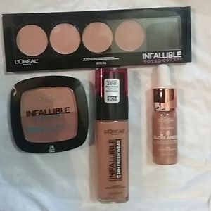 Loreal Infallible Lot! NEW